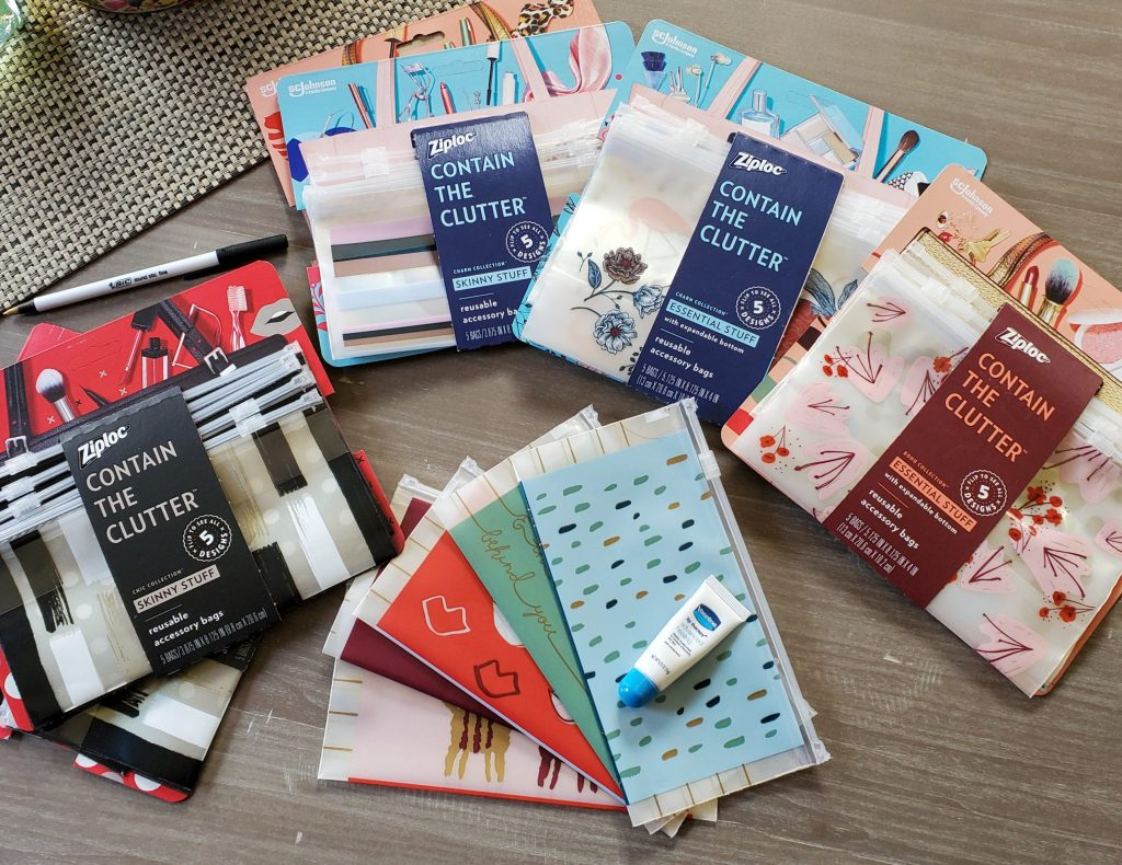 Ziploc accessory bags review
