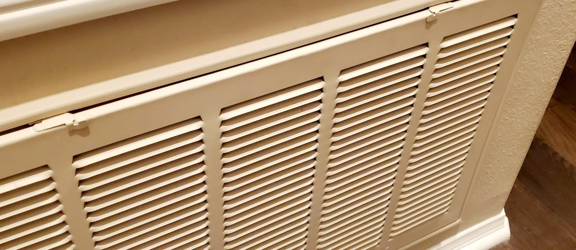 Changing the return filter for your AC is a great 2-minute chore you can do any time.
