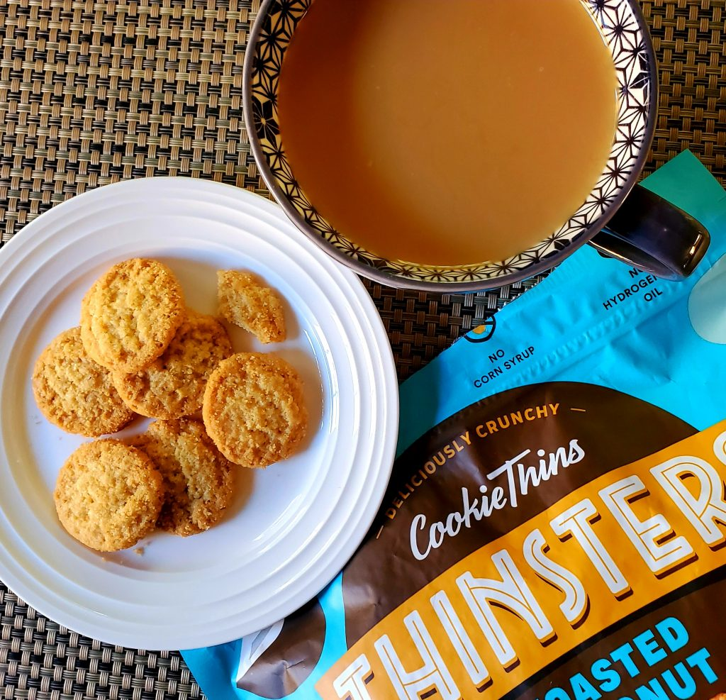 All About Thinsters Coconut Cookie Thins