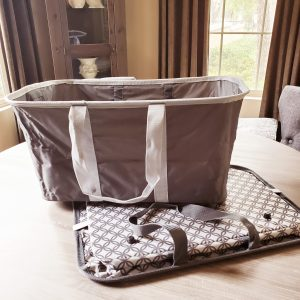 clevermade 2pk collapsible laundry hamper