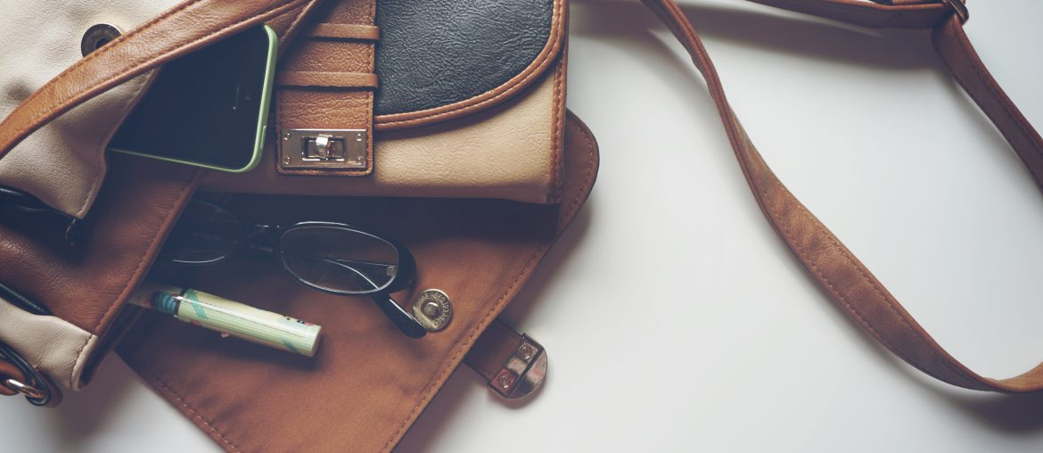 Take 2 minutes or less to empty your purse, backpack, or wallet each week
