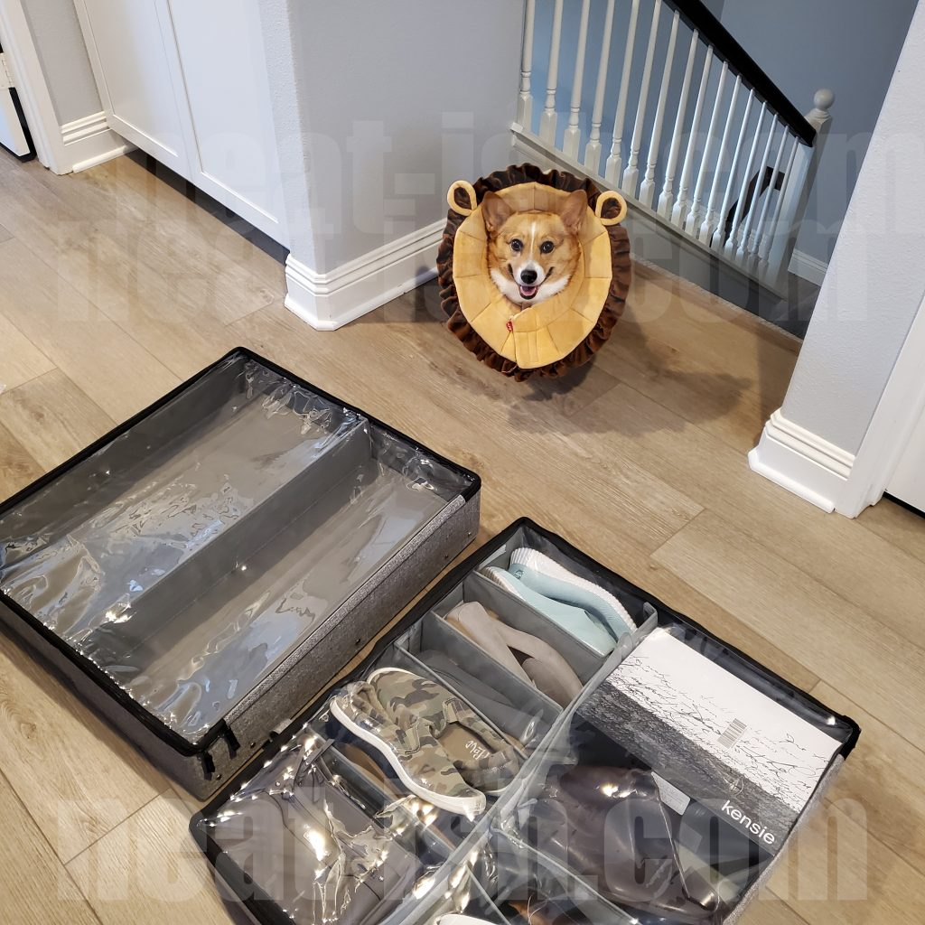 Side-by-side-comparison-of-the-storageLAB-under-bed-organizer-with-wheels-and-cover-vs-underbed-shoe-orgaizer-1