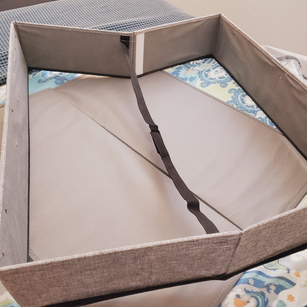 storageLAB-under-the-bed-organizer-with-wheels-and-cover-frame-and-base