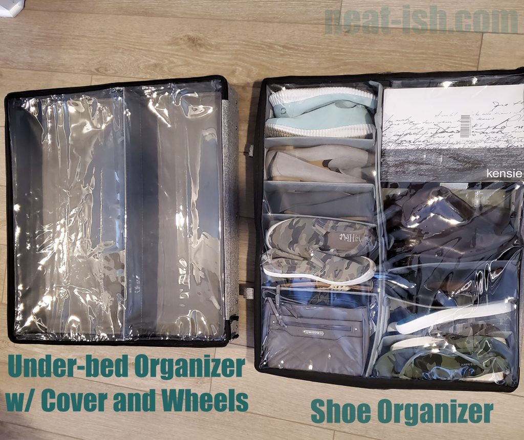 storagelab-under-bed-organizer-with-wheels-and-cover-vs-shoe-organizer-with-cover