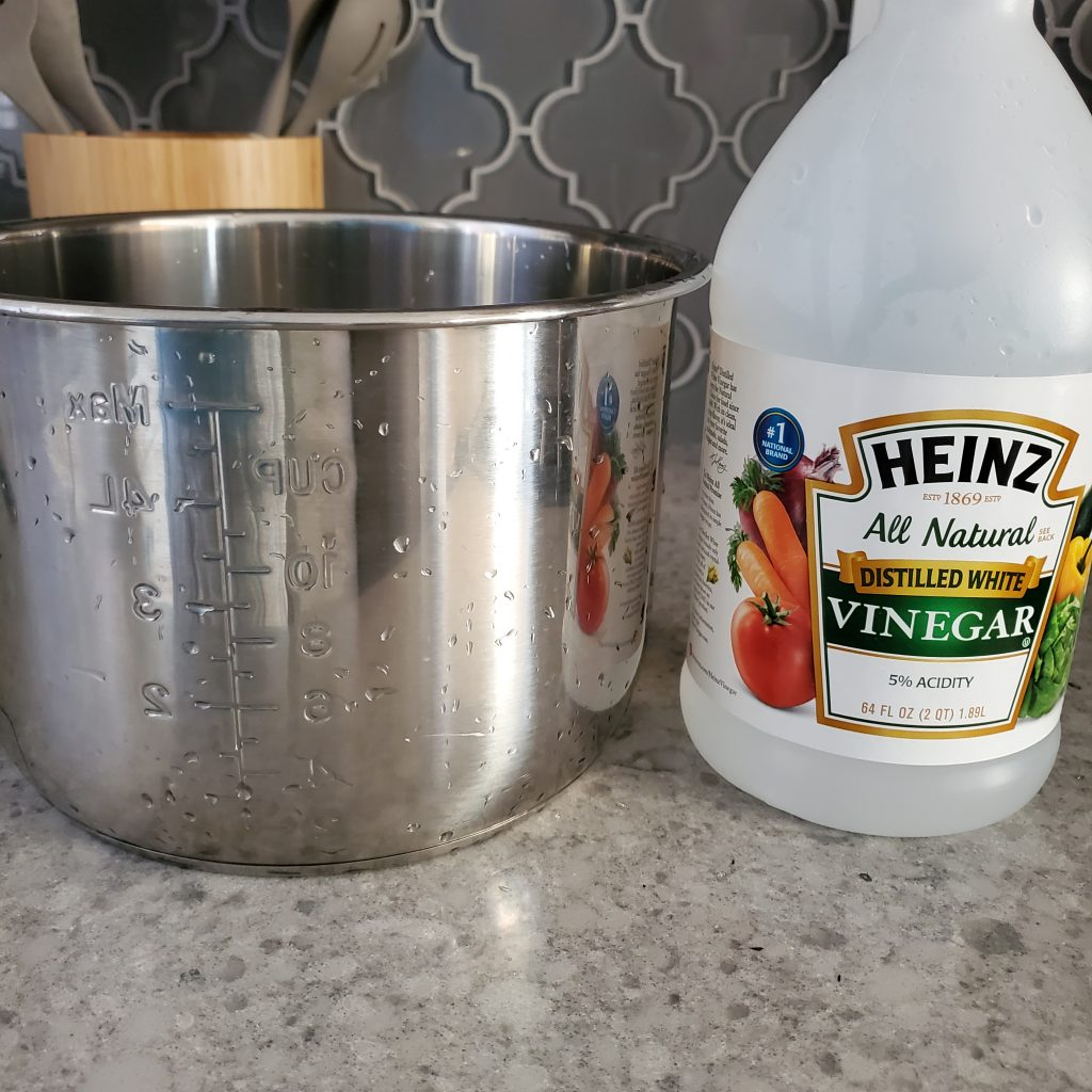 Learn how to clean the film off an instant pot liner