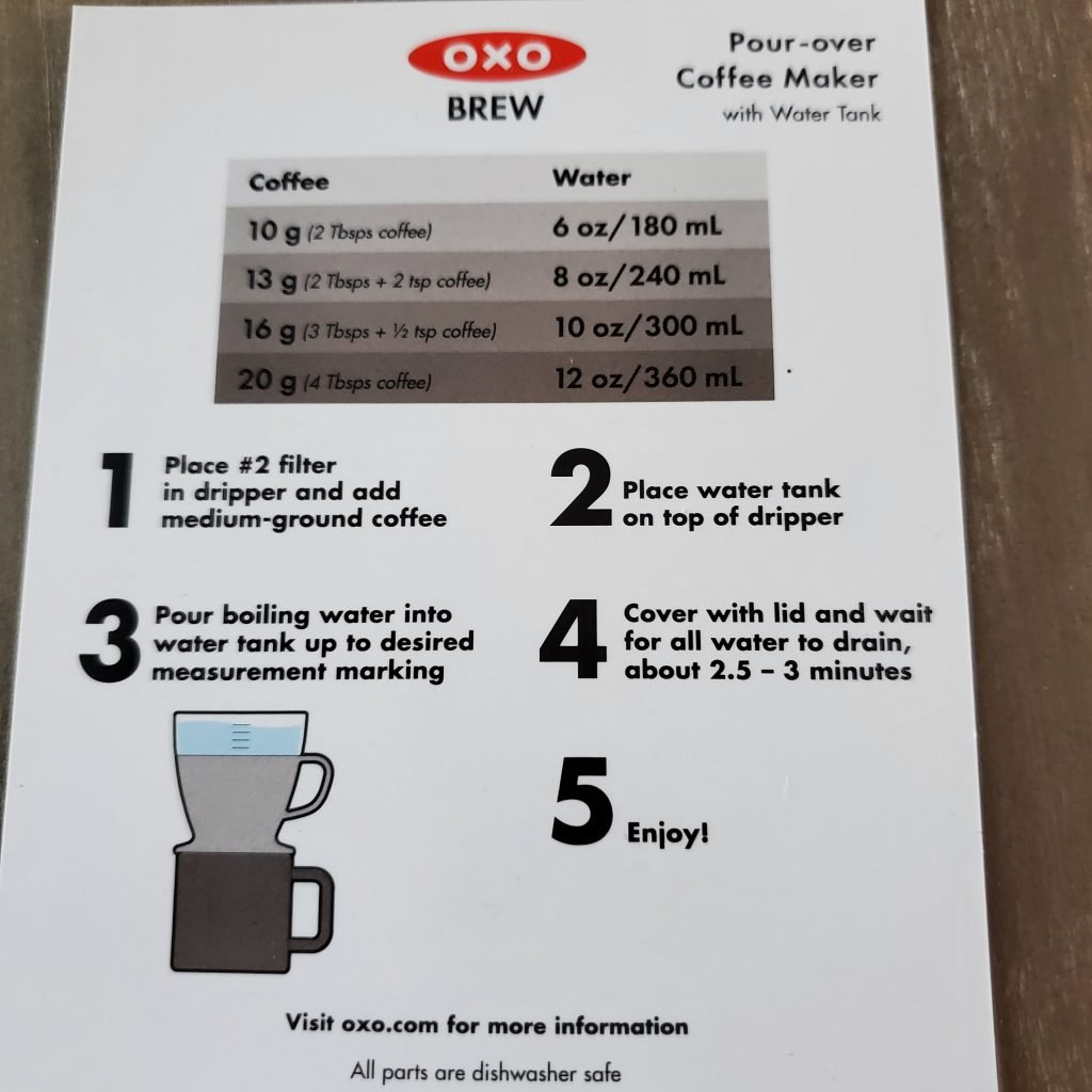oxo-pour-over-with-water-tank-instructions-hands-on-review